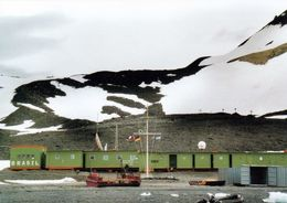 1 AK Antarctica Antarktis * Base Comandante Ferraz (Brasilianische Forschungsstation) Auf Der Insel King George * - Postcards