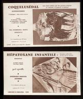 Lot Publicités Pharmacie Dont 5 Buvards  2 Format Buvard & 8 Issues De Revues Port Fr 4,80€ - Publicités