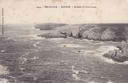 56 /BELLE ISLE / BANGOR / ROCHERS DU PORT COTON / PAS COURANTE - Belle Ile En Mer