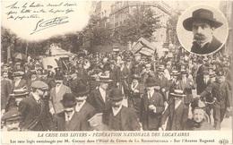 Dépt 75 - PARIS (16è Arr.) - LA CRISE DES LOYERS - FÉDÉRATION NATIONALE DES LOCATAIRES - Sur L'Avenue Bugeaud - ELD - Arrondissement: 16