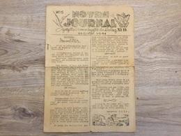 Rare Journal En Français Du Stalag XIB 1941 4 Pages - 1939-45