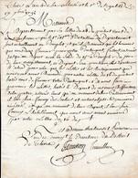 Sept. 1792 - DÉPART DES VRAIS DÉFENSEURS De La PATRIE Leur Sera Fourni Des Souliers Et Objets De 1ère Nécessité Et SOLDE - Historical Documents