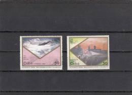 Cuba Nº 3021 Al 3022 - Cuba