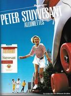 Ancienne Publicité Papier - Advertising Paper - Peter Stuyvesant Allumettes - Publicités