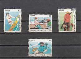 Cuba Nº 3040 Al 3043 - Cuba