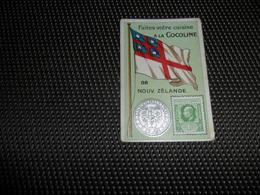 Chromo ( 6698 ) Usines De Bruyn Termonde Dendermonde - Pièce De Monnaie  Timbre  Drapeau - Nouvelle Zélande - Chromos