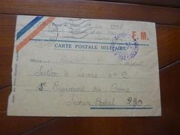 CARTE POSTALE MILITAIRE  1er SAPEUR  15EME REGIMENT DU GENIE  25/11/39 - Altri