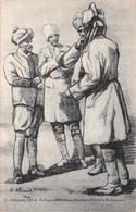 Illustration - Guerre 1914 - Collogue D'Hindous - Militaire Militaria Soldat - D'après Alluaud - Illustratoren & Fotografen
