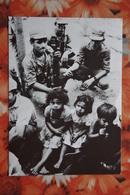 Nicaragua Libre - Little Boy - Soldiers / Old Postcard - Nicaragua