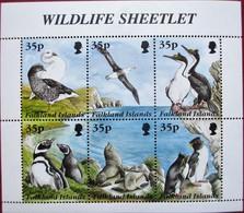 Falkland Islands  1995   M/S  MNH - Oiseaux