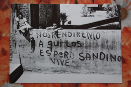Nicaragua Libre - Children / Old Postcard - Nicaragua