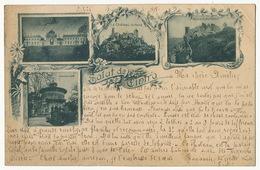 Precurseur Salut De Cintra P. Used 1898 Light Crease Top Right Corner - Portugal