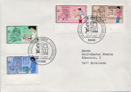 Postal History Cover: Germany Jobs Set On Cover - Jobs