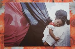 Nicaragua Libre - Little Child - Flag / Old Postcard - Nicaragua