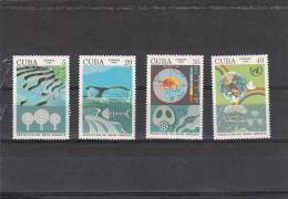 Cuba Nº 3186 Al 3189 - Cuba