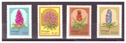 MADERA - 1981 - FLORA LOCALE. PRIMA SERIE. SERIE COMPLETA. MNH** - Madeira