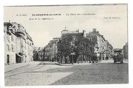 St GERMAIN En LAYE  (cpa 78)  La Place Des Combattants  - L 1 - St. Germain En Laye