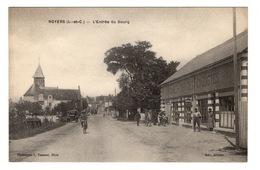 41 LOIR ET CHER - NOYERS L'entrée Du Bourg, Au Rendez-vous Des Cyclistes (voir Descriptif) - Noyers Sur Cher