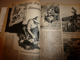 1948 MÉCANIQUE POPULAIRE: Chercheur D'or;Faire Son Cruiser-Moteur;Le Jeu De La Crosse Indienne;etc - Autres