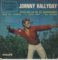 Disque 45 Tours JOHNNY HALLYDAY - 1963 - Rock