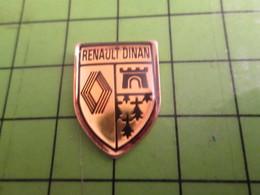 811J Pin's Pins / Belle Qualité Et TB état !!!! : THEME AUTOMOBILE / BRETAGNE GARAGE RENAULT DINAN Dis Ouii !!!! - Renault