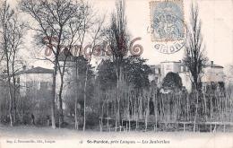 (33) Saint St Pardon, Près De Langon - Les Jaubertes Jauberthes - Trés Bon état - 2 SCANS - France