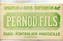 PERNOD(PARIS_PONTARLIER_MARSEILLE) BUVARD - P