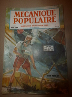 1948 MÉCANIQUE POPULAIRE: Patinage Sur Glace; Etude Des Avalanches; Faire Un Berceau Hollandais;etc - Wissenschaft & Technik