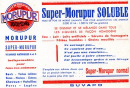 BUVARD(MORUPUR) - Buvards, Protège-cahiers Illustrés