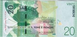 Saint Thomas & Prince - Pick New - 20 Dobras 2016 - 2018 - Unc - San Tomé E Principe