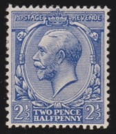 England    .      Yvert   .     143  .  1921/22   .  Simple GVR   .  *    .      Mint-hinged .   /    .  Ongebruikt - 1902-1951 (Koningen)