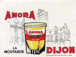 BUVARD(MOUTARDE) AMORA(DIJON) - Moutardes