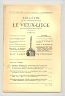 Bulletin Le Vieux Liège  N°173 - 174 / 1971 -  Liège ,Cornillon,- Croix  Aubel (2 ) Et Anthisnes .Détails, Voir Sommaire - Culture