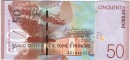 Saint Thomas & Prince - Pick New - 50 Dobras 2016 - 2018 - Unc - Sao Tomé Et Principe