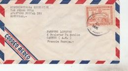 HONDURAS - YT PA156 SEUL SUR LETTRE SAN PEDRO 1964 POUR FRANCE CANNES - Honduras