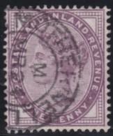England  .     Yvert   .    73    .     O   .    Cancelled .   /    .   Gebruikt - 1840-1901 (Victoria)