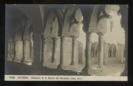 Italia. Lazio. Viterbo. *Chiostro De S. Maria Del Paradisco* Ed. NPG Nº 1496. Nueva. - Viterbo