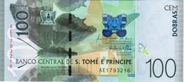 Saint Thomas & Prince - Pick New - 100 Dobras 2016 - 2018 - Unc - San Tomé E Principe