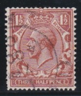England  .     Yvert   .     161b    Wm Sideways       .       O       .       Cancelled .   /    .   Gebruikt - 1902-1951 (Koningen)