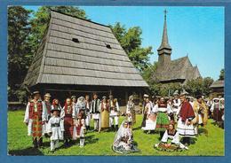 ROMANIA BUCURESTI DANSATORI LA MUZEUL SATULUI UNUSED - Romania