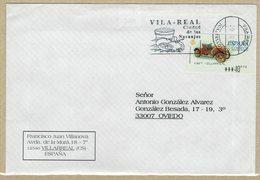 ENVELOPPE OBLITERATION VILLAREAL VILLE DES ORANGES ESPAGNE - Agricultura