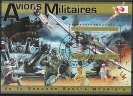 Guinea 2011 Bf. 2050A Pearl Harbor Avions Militaires Aviazione Sheet Perf. CTO Guinee - Guinea (1958-...)