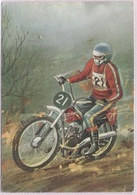 CPM - MOTO CROSS - Illustration - Edition M.D.Paris - Motorcycle Sport