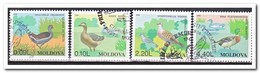 Moldavië 1996, Gestempeld USED, Birds - Moldavia