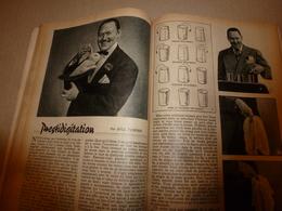 1948 MÉCANIQUE POPULAIRE: Prestidigitation ; Photos Sur Tissus Et Sur Verre; Pêche Aux Requins; Etc - Wissenschaft & Technik