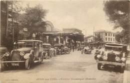06 - JUAN LES PINS - Casino Municipal (entrée) - Autos + Taxis Beau Plan - France