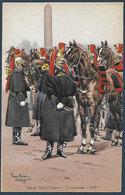 France - Garde Républicaine  - Trompettes - 1929 - Illustration Pierre Albert Leroux - Uniformes
