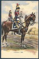 France - Cuirassiers - 1807 - Illustration Pierre Albert Leroux - Uniformen