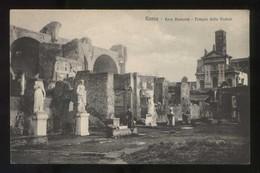 Italia. Lazio. Roma. *Foro Romano. Tempio Delle Vestali* Ed. Brunner & Co. Nº 6470. Nueva. - Roma (Rome)