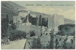 Dubrovnik - Ragusa Toranj Minčeta - Torre Di Mincetta - Mincetta-Turm - Weiss - Unused - Croatia